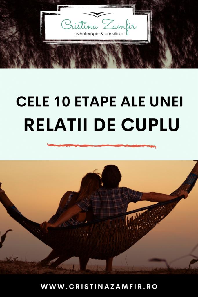 10 etape ale unei relaţii de cuplu